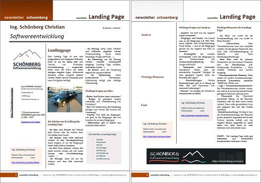 Ebook Landing-Page