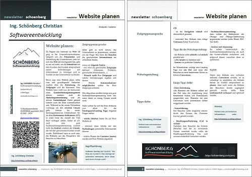 Ebook Website-planen