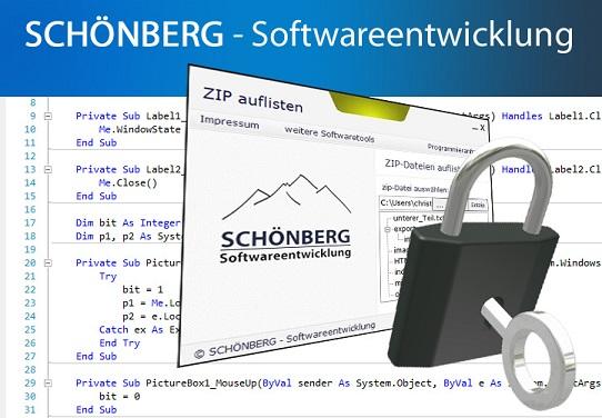 Schoenberg - Programmierauftrag, Programmierer - PhotoShop-Elements