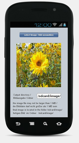 Schoenberg - Programmierauftrag, Programmierer - Android SmartPhone App