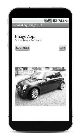 Schoenberg - Programmierauftrag, Programmierer - Android App Schwarz-Weiss-Foto