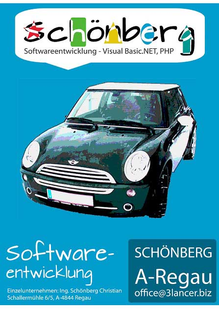 Schoenberg - Programmierauftrag, Programmierer - Anwendungsbeispiel der selbst programmierten Softwaretools