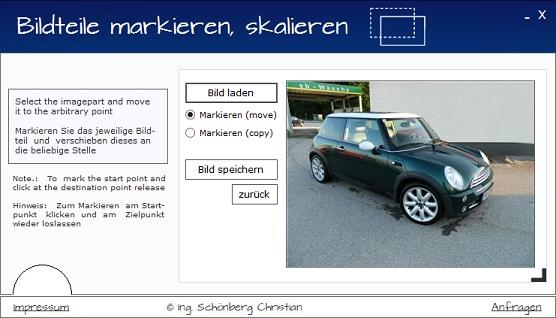 Schoenberg - Programmierauftrag, Programmierer - Fotobearbeitungssoftwaretool