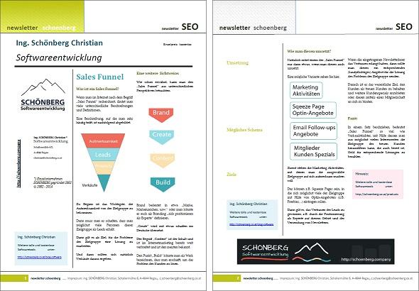 Schoenberg - Programmierauftrag, Programmierer - Ebook Sales Funnel