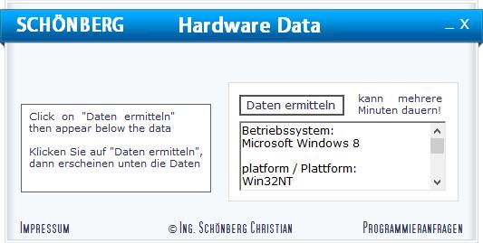 Schoenberg - Programmierauftrag, Programmierer - Programme (Prozesse) schliessen