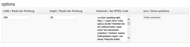 Schoenberg - Programmierauftrag, Programmierer - WordPress-Plugin für kleines Werbefenster unten