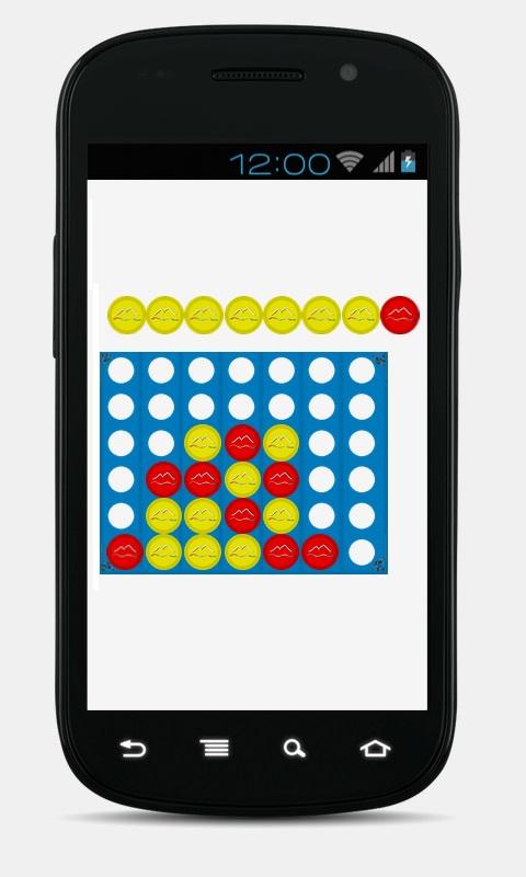 4 in einer Reihe Android App