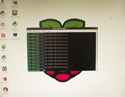 Schoenberg - Programmierauftrag, Programmierer - Beispielanwendung mit Raspberry Pi und Python